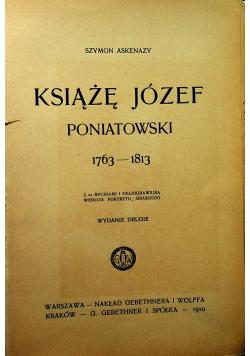 Książę Józef Poniatowski 1910r