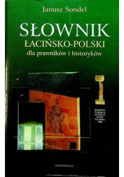 Słownik łacinsko polski dla prawników i historyków