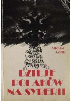 Dzieje Polaków na Syberii Reprint z 1928 r
