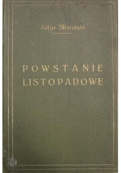 Powstanie Listopadowe 1910 r.