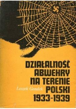 Działalność Abwehry na terenie Polski 1933 1939