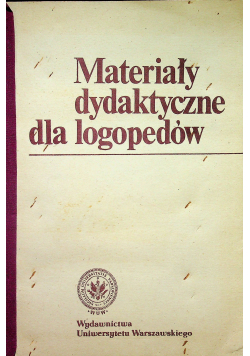 Materiały dydaktyczne dla logopedów