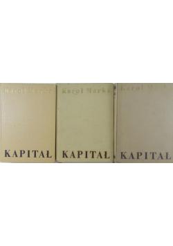 Kapitał 3 tomy