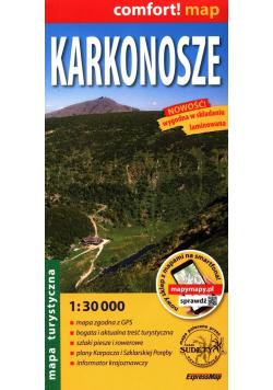 Karkonosze mapa turystyczna 1:30 000