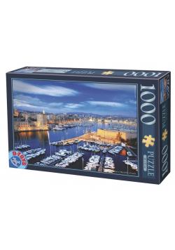 Puzzle 1000 Francja, Port w Marsylii