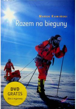 Razem na bieguny z płytą DVD nowa