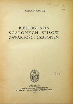 Bibliografia scalonych spisów zawartości czasopism