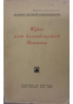 Wybór pism kaznodziejskich Newmana