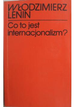 Co to jest internacjonalizm