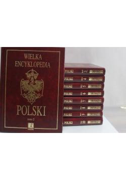 Wielka Encyklopedia Polski tom od 2 do 10