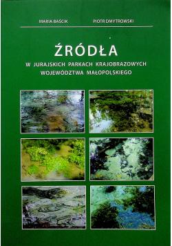 Źródła w jurajskich parkach krajobrazowych województwa małopolskiego