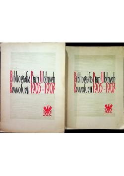 Bibliografia Pism Ulotnych Rewolucji 1905 - 1907 2 tomy