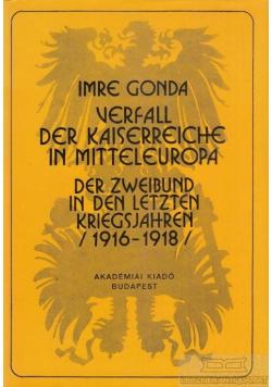 Imre Gonda Verfall der kaiserreiche in mitteleuropa
