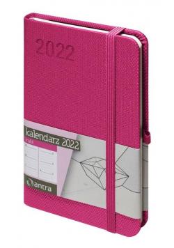 Kalendarz 2022 Rubi A6 różowy TDW ANTRA