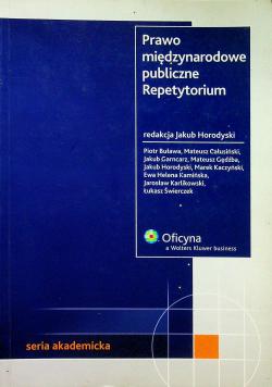 Prawo międzynarodowe publiczne Repetytorium