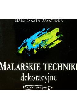 Malarskie Techniki dekoracyjne