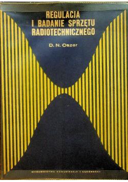 Regulacja i badanie sprzętu radiotechnicznego