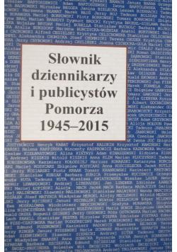 Słownik dziennikarzy i publicystów Pomorza