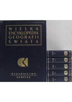 Wielka encyklopedia geografii świata Tomy od I do VI