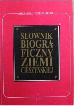 Słownik Biograficzny Ziemi Cieszyńskiej 1