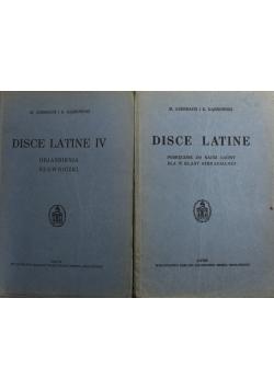 Disce latine IV 2 tomy 1936 r.