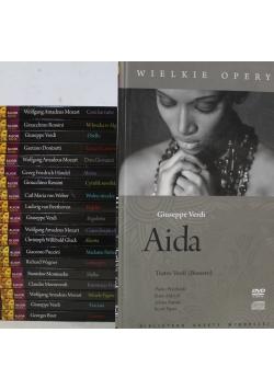 Wielkie Opery 20 płyt DVD + CD