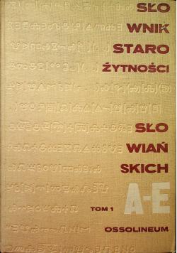 Słownik Starożytności Słowiańskich tom 1