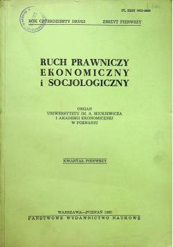 Ruch Prawniczy Ekonomiczny i socjologiczny