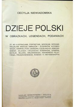 Dzieje Polski w obrazkach legendach podaniach