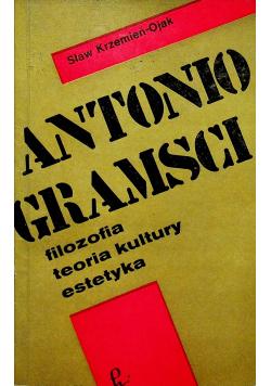 Antonio Gramsci Filozofia teoria kultury estetyka
