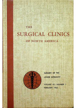 The surgical clinics of North America nr 1