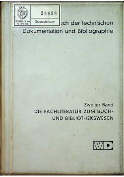 Die fachliteratur zum Buch und Bibliothekswesen