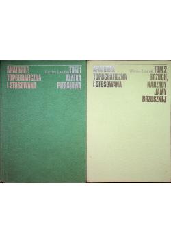 Anatomia topograficzna i stosowana tom 1 i 2