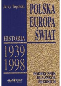 Polska Europa Świat Podręcznik dla szkół średnich