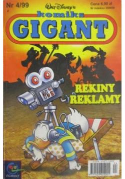 Komiks Gigant Rekiny reklamy Nr 4