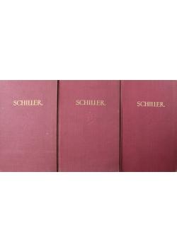 Schiller Dzieła wybrane 3 Tomy