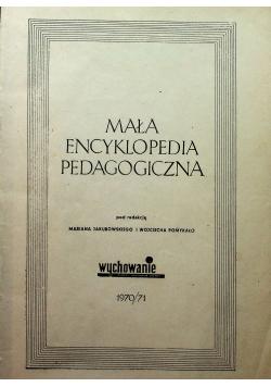Mała encyklopedia pedagogiczna