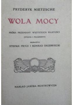 Wola mocy reprint z 1911