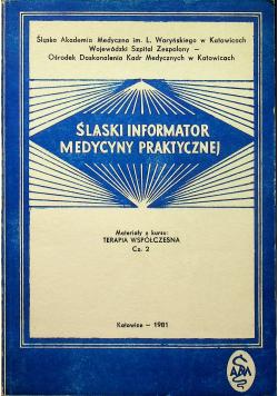 Śląski informator medycyny praktycznej Terapia współczesna Część 2