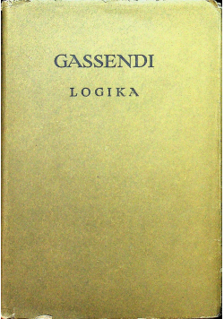 Gassendi Logika