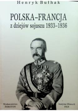 Polska-Francja, z dziejów sojuszu 1933-1936