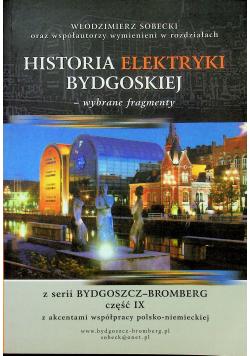 Historia elektryki bydgoskiej