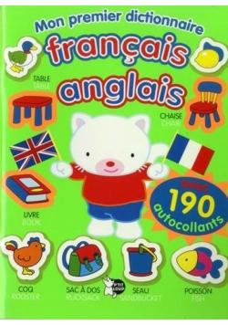 Mon premier dictionnaire français anglais