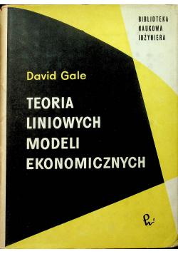 Teoria liniowych modeli ekonomicznych
