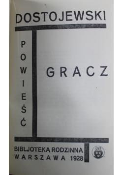 Idjota Tom II / Gracz 1928 r