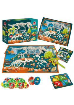 Puzzle edukacyjne Detective - Dino Museum