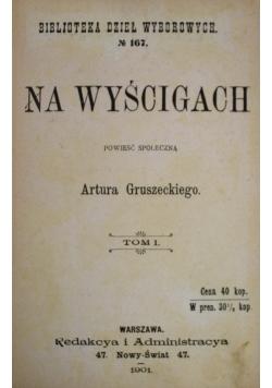 Na wyścigach 1901 r.