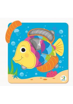 Puzzle 5 mini Ryba