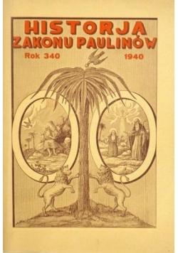 Historia zakonu Paulinów  1939r