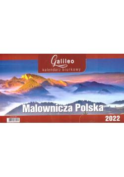 Kalendarz 2022 Biurkowy Galileo Polska CRUX